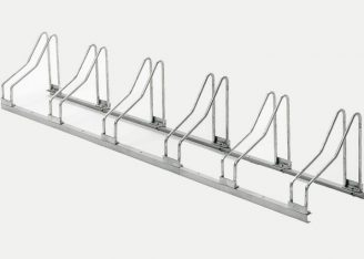 6-bikes galvanised bike racks