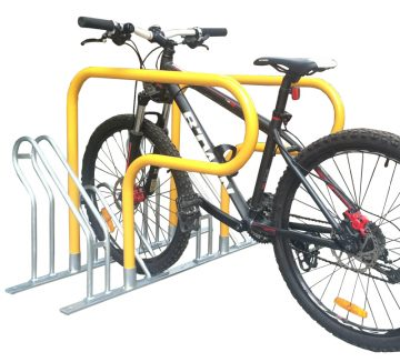 4 Bike Parking Rack with bike